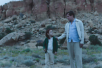 The Glass Castle (2017) <br /> Woody Harrelson &amp; Chandler Head<br /> *Filmstill - Editorial Use Only*<br /> CAP/KFS<br /> Image supplied by Capital Pictures