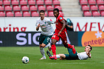 Ridle Baku (FSV Mainz 05 #34), Marco Friedl (Werder Bremen #32), Christian Groß / Gross (Werder Bremen #36)<br /> <br /> <br /> Sport: nphgm001: Fussball: 1. Bundesliga: Saison 19/20: 33. Spieltag: 1. FSV Mainz 05 vs SV Werder Bremen 20.06.2020<br /> <br /> Foto: gumzmedia/nordphoto/POOL <br /> <br /> DFL regulations prohibit any use of photographs as image sequences and/or quasi-video.<br /> EDITORIAL USE ONLY<br /> National and international News-Agencies OUT.