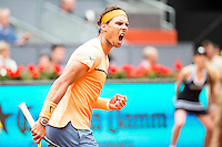 Spanish Rafael Nadal during Semi-Finals Mutua Madrid Open Tennis 2016 in Madrid, May 07, 2016. (ALTERPHOTOS/BorjaB.Hojas) /NortePhoto.com