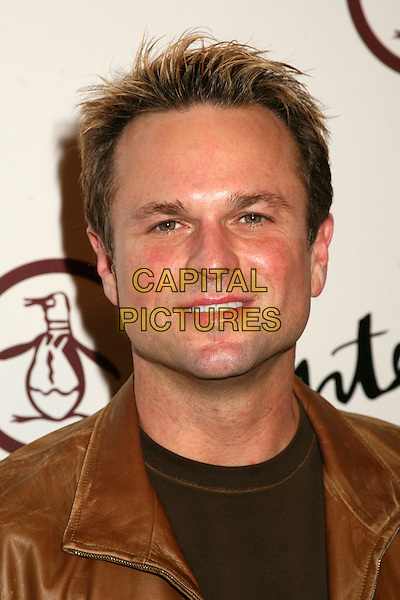 "SAM HARRIS.Grand Opening of ""An Original Penguin"" Store on Melrose Ave, Los Angeles, California, USA..November 2nd, 2006.Ref: ADM/BP.headshot portrait.www.capitalpictures.com.sales@capitalpictures.com.©Byron Purvis/AdMedia/Capital Pictures."
