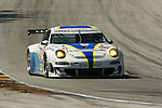 08 August 2008: The VICI Racing Porsche 911 GT3 RSR, driven by Nicky Pastorelli (NLD), Mark Basseng (DEU), and Francesco Pastorelli (NLD) , at the Generac 500  at Road America, Elkhart Lake, Wisconsin, USA.
