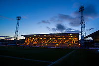 3rd March 2020; Dens Park, Dundee, Scotland; Scottish Championship Football, Dundee FC versus Alloa Athletic; A general view of the Kilmac Stadium at Dens Park