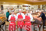 Timmy Flaherty, John Bowler and Chris Bentley of Seamus O'Sullivan Butchers