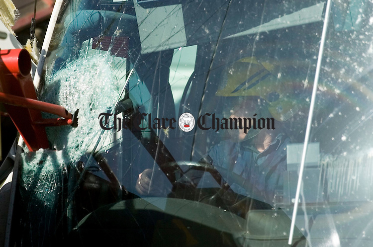 Bus Crash Clarecastle