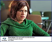 Pascale Montpetit dans Pure Laine<br /> <br /> Editorial Only - for media use only<br /> Pour usage media (editorial)  Uniquement<br /> <br /> (c) Tele Quebec