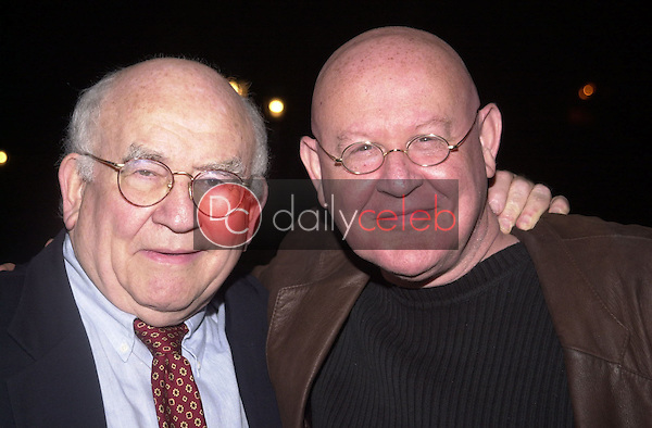Edward Asner and Daniel Benzali