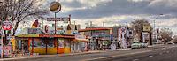 Route 66 through Seligman Arizona.