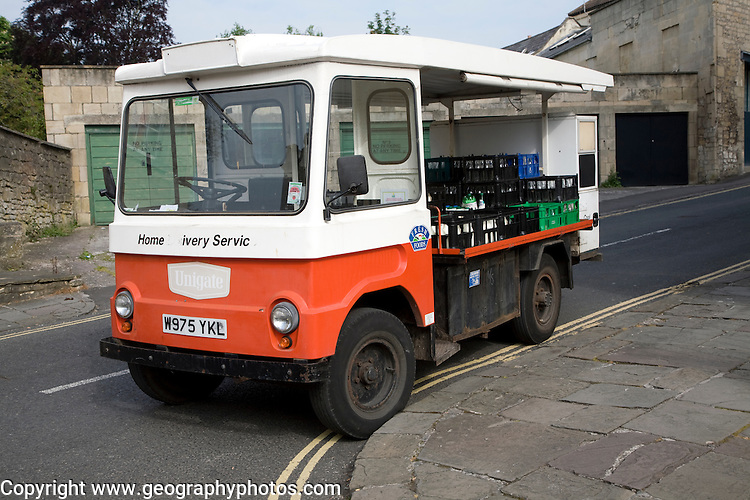 Traditional milk float