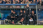 12.10.2018, Stadion an der Bremen Bruecke, Osnabrueck, GER, FSP, 1.FBL, VfL Osnabrueck vs Werder Bremen<br /> <br /> DFL REGULATIONS PROHIBIT ANY USE OF PHOTOGRAPHS AS IMAGE SEQUENCES AND/OR QUASI-VIDEO.<br /> <br /> im Bild / picture shows<br /> Florian Kohfeldt (Trainer SV Werder Bremen) nach Ausgleichstreffer in Coachingzone / an Seitenlinie, <br /> <br /> Foto © nordphoto / Ewert