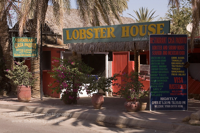 Lobster House Restaurant, Cabo San Lucas, Baja California, Mexico