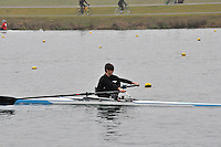 097 DartTotnesRC J16A.1x..Marlow Regatta Committee Thames Valley Trial Head. 1900m at Dorney Lake/Eton College Rowing Centre, Dorney, Buckinghamshire. Sunday 29 January 2012. Run over three divisions.