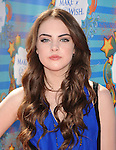 SANTA MONICA, CA. - March 14: Elizabeth Gillies attends the Make-A-Wish Foundation's Day of Fun hosted by Kevin & Steffiana James held at Santa Monica Pier on March 14, 2010 in Santa Monica, California.