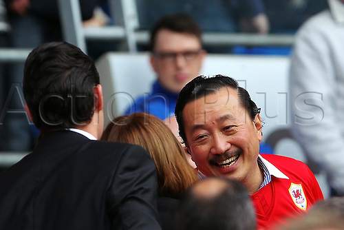 05.04.2014  Cardiff, Wales. Cardiff Owner Vincent Tan during the Premier League game between Cardiff City and Crystal Palace  from Cardiff City Stadium.