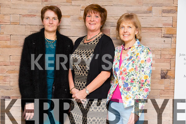 Avitus O Halloran, Mary O Halloran and Marian Costello enjoying the 'Dress Haven' Fashion Event in aid of Recovery Haven at Fels Point Hotel on Saturday