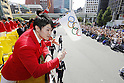 Kohei Uchimura (JPN), <br /> OCTOBER 7, 2016 :<br /> Japanese medalists of Rio 2016 Olympic and Paralympic Games wave to spectators during a parade from Ginza to Nihonbashi, Tokyo, Japan.<br /> (Photo by Yusuke Nakanishi/AFLO SPORT)