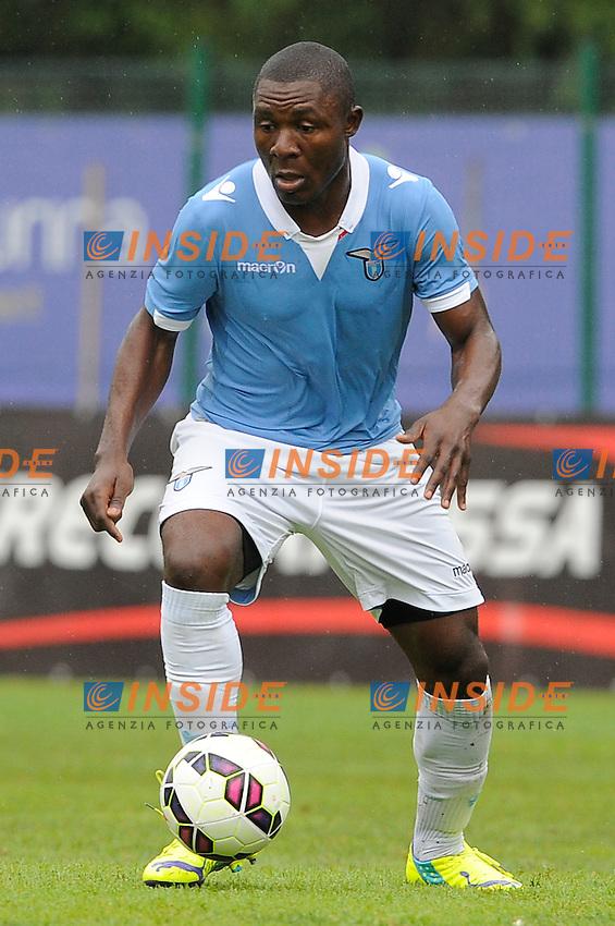 Joseph Minala Lazio <br /> Auronzo 26-07-2014 <br /> Football Calcio Amichevole. Pre season 2014/2015 training. Lazio - Asiago. Foto Insidefoto
