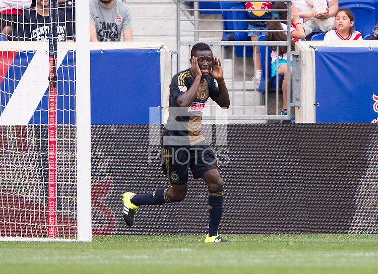 Harrison, NJ - July 21, 2015:  The Philadelphia Union advanced to the semifinals of the US Open Cup on penalty kicks after tying New York Red Bulls 1-1 at Red Bull Arena.