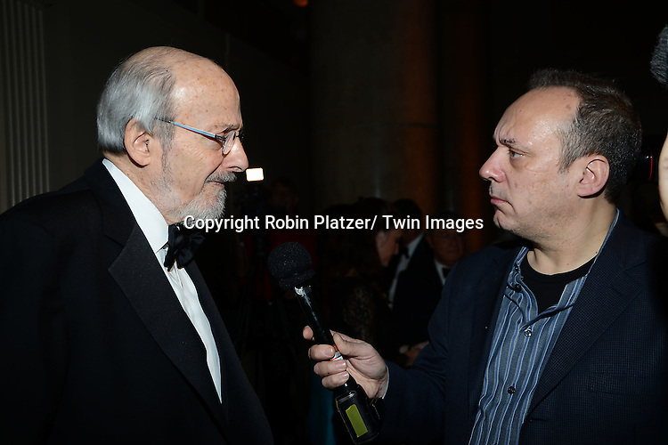 E.L. Doctorow, winner of the Medal for Distinguished Contribution to American Letters,  attends the 2013 National Book Awards Dinner and Ceremony on November 20, 2013 at Cipriani Wall Street in New York City.
