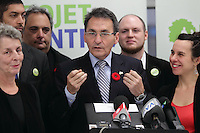 2013 File Photo - Richard Bergeron , candidate for Montreal's Mayor <br /> <br /> NOTE : Full size JPG processed from RAW to follow