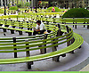 Federal Plaza Benches by Thoughtforms