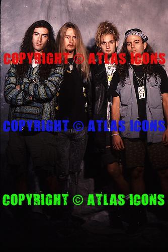 Alice In Chains, 1990.Photo Credit: Eddie Malluk/Atlas Icons.com