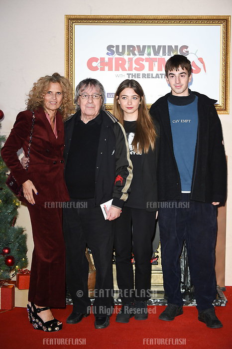 LONDON, UK. November 21, 2018: Bill Wyman at the &quot;Surviving Christmas with the Relatives&quot; premiere at the Vue Leicester Square, London.<br /> Picture: Steve Vas/Featureflash