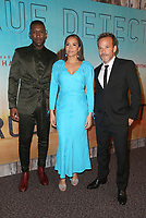 LOS ANGELES, CA - JANUARY 10: Mahershala Ali, Carmen Ejogo and Stephen Dorff at the Los Angeles Premiere of HBO's True Detective Season 3 at the Directors Guild Of America in Los Angeles, California on January 10, 2019. Credit: Faye Sadou/MediaPunch