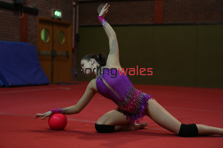 Welsh Gymnastics.Frankie Jones.21.03.13.©Steve Pope