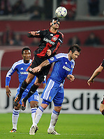 FUSSBALL   CHAMPIONS LEAGUE   SAISON 2011/2012   GRUPPENPHASE Bayer 04 Leverkusen - FC Chelsea    23.11.2011 Michael BALLACK (li, Leverkusen) gegen Frank LAMPARD (re, Chelsea)