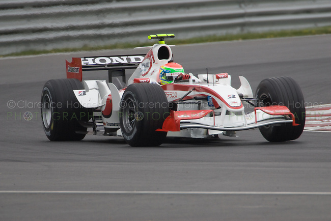 MONTREAL - JUNE 23: Anthony Davidson of Honda Racing on the track during the first practice session on the Friday prior to race weekend of the Canadian F1 Grand Prix at the Circuit Gilles-Villeneuve June 23, 2006 in Montreal, Canada.