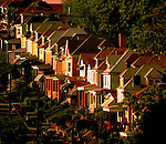 copyright JimMendenhallPhotos.com 2013 May 16, 2013 Beechview from Dormont. houses n rows facing the western sun  Do Not print. was saved at medium compression. start over.