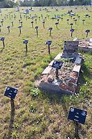 Europe/Pologne/Lodz: le cimetière juif avec ses 160000 tombes sur 41 ha