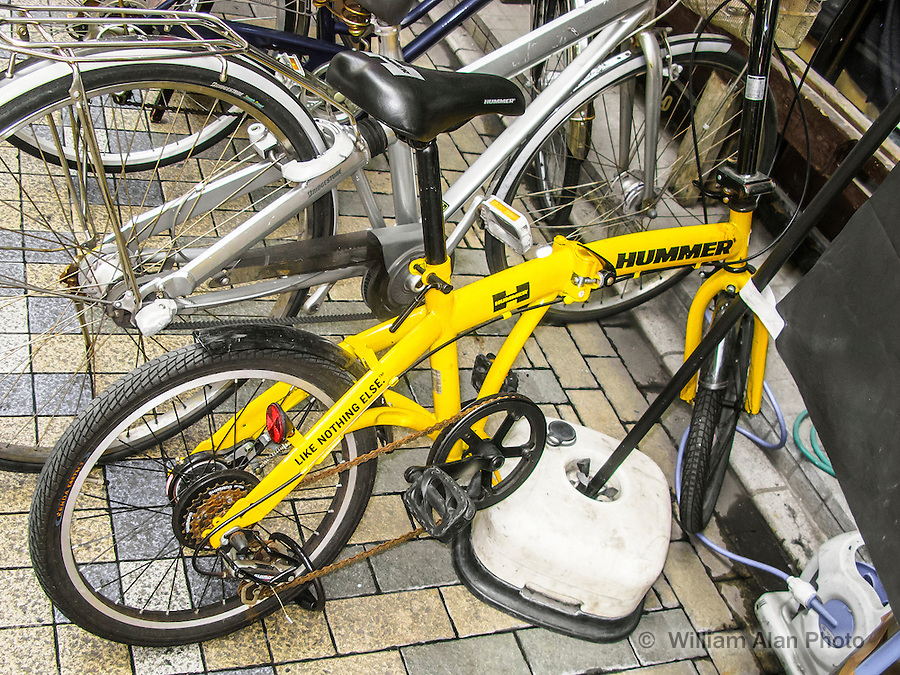 Hummer, Like Nothing Else, Bike in Ota, Japan 2014.