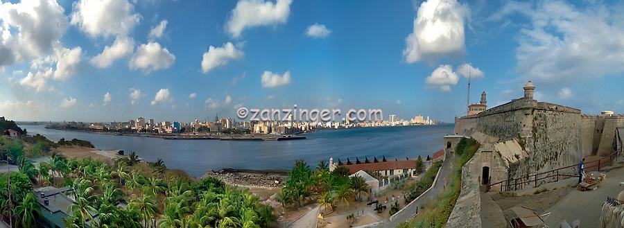 Castillo el Morro Havana Cuba CGI Backgrounds, ,Beautiful Background