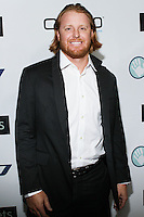 BEVERLY HILLS, CA, USA - OCTOBER 26: Justin Turner arrives at the CP3 Foundation Celebrity Server Dinner held at Mastro's Steakhouse on October 26, 2014 in Beverly Hills, California, United States. (Photo by Rudy Torres/Celebrity Monitor)