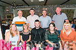 Triple Celebration for Liz Locke from Tralee celebrating her 50th birthday, son  Craig Locke celebrating his 25th and Mary Clifford celebrating her 50th  with family and friends on Saturday night at Cassidys. Pictured Front l-r  Helen Locke, Liz Locke, Craig Locke, Mary Clifford and Noreen Locke. Back l-r  Anthony Clifford, Junior Locke, James Clifford and Liam McElligott