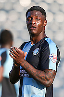 Anthony Stewart of Wycombe Wanderers after the Sky Bet League 2 match between Wycombe Wanderers and Mansfield Town at Adams Park, High Wycombe, England on 25 March 2016. Photo by David Horn.