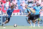 08.06.2019., stadium Gradski vrt, Osijek - UEFA Euro 2020 Qualifying, Group E, Croatia vs. Wales.  Luka Modric, Domagoj Vida. <br /> <br /> Foto © nordphoto / Goran Stanzl/PIXSELL