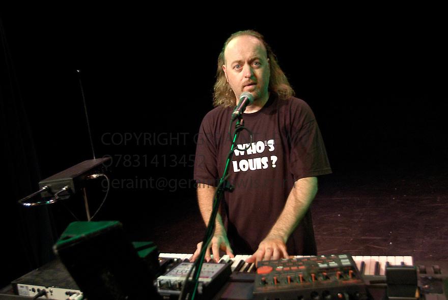Bill Bailey at the Pleasance Theatre at the Edinburgh Festival 2003  CREDIT Geraint Lewis