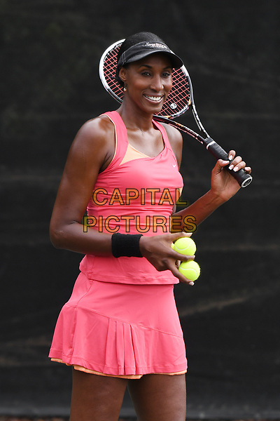 DELRAY BEACH, FL - NOVEMBER 03: Lisa Leslie attends the Chris Evert/Raymond James Pro-Celebrity Tennis Classic at the Delray Beach Tennis Center on November 3, 2017 in Delray Beach Florida. <br /> CAP/MPI04<br /> &copy;MPI04/Capital Pictures
