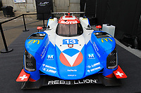 PRESENTATION OF THE VAILLANTE REBELLION LIVERY (ORECA 07 – GIBSON) FOR THE NEXT 24 HOURS OF LE MANS.