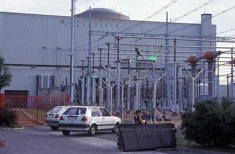 JUL 06 1991 Slovenia Kr?ko Nuclear Power Plant (NEK)....Slovenia, Centrale Nucleare di Krsko.