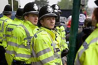 Old Bill Right To Work Demo Birmingham Oct 2010