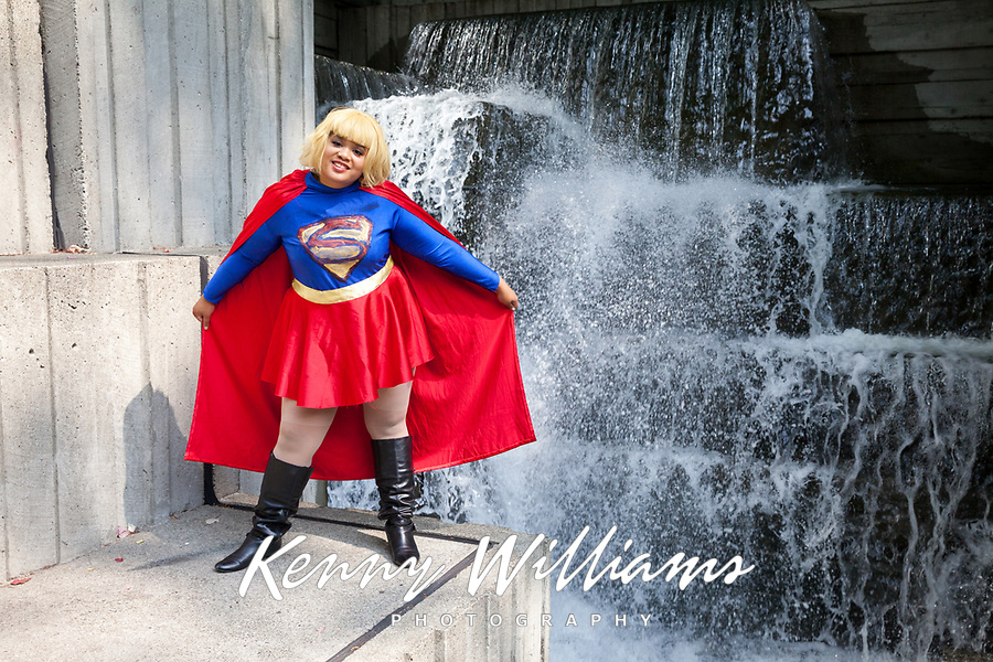 Superwoman Cosplay, Pax West 2017, Seattle, WA, USA.