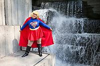 Superwoman Cosplay, Pax West 2017, Seattle, WA, USA.