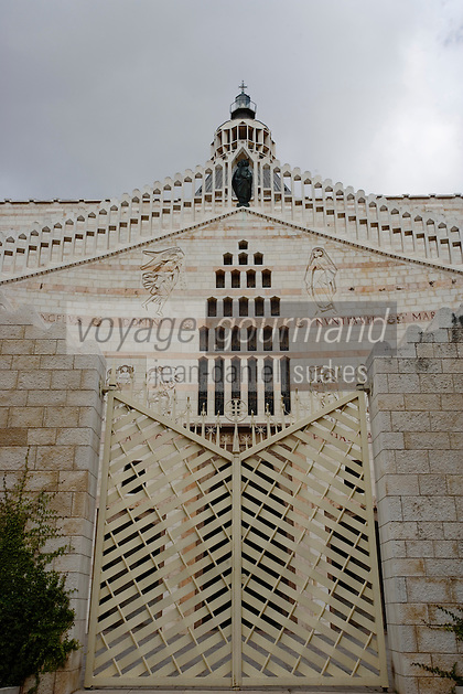 Asie/Israël/Galilée/Nazareth: Basilique de l'Annonciation-architecte Giovanni Muzio