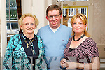 Pictured at the opening of the Tralee Chamber Alliance offices on Monday, from left: Mary O'Brien, Brendan O'Brien and Cllr Gillian Wharton Slattery.