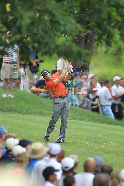 US Open 2011 Bethesda, MD. 18/6/11.Sergio Garcia (ESP) teeing off on the 7th.on day three of the USGA US OPEN at Congressional country club, Bethesda, Washington..Picture Fran Caffrey/www.golffile.ie