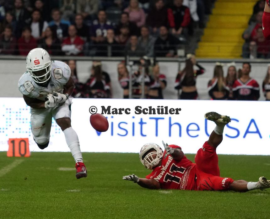 - 12.10.2019: German Bowl XLI Braunschweig Lions vs. Schwäbisch Hall Unicorns, Commerzbank Arena Frankfurt