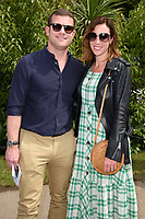 Dermot O'Leary at the Chelsea Flower Show 2018, London, UK. <br /> 21 May  2018<br /> Picture: Steve Vas/Featureflash/SilverHub 0208 004 5359 sales@silverhubmedia.com